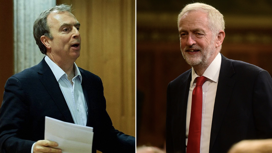 Unlikely bedfellows: Corbyn finds a fan in Mail columnist Peter Hitchens over his Russia stance