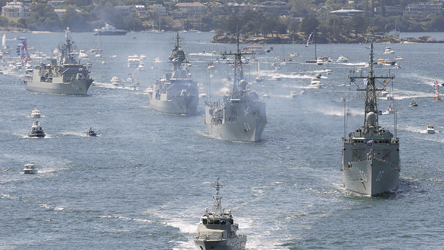 Australia & China on Pacific Ocean collision course & no one's talking about it