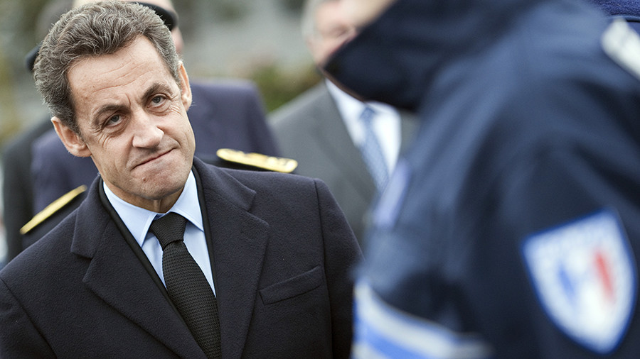 Ex-French President Sarkozy in police custody over 'Libyan aid' for his 2007 campaign