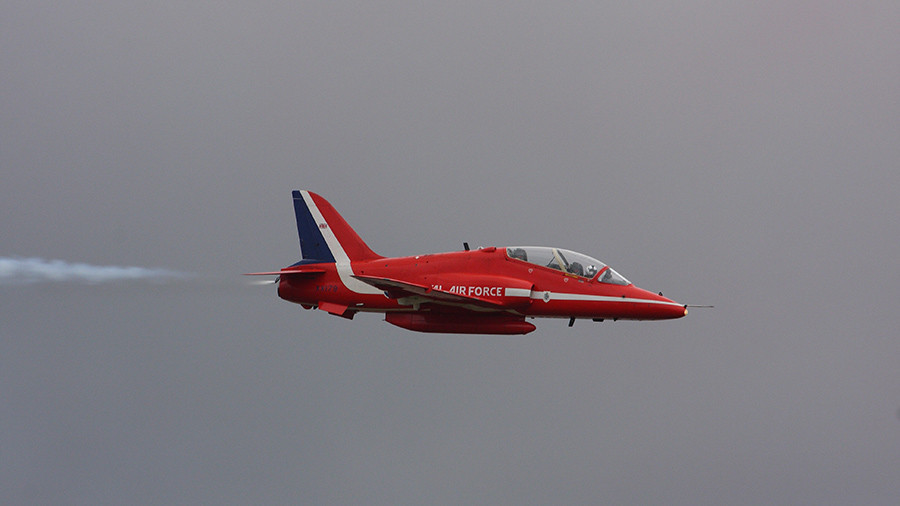 Red Arrows Hawk jet involved in RAF Valley crash