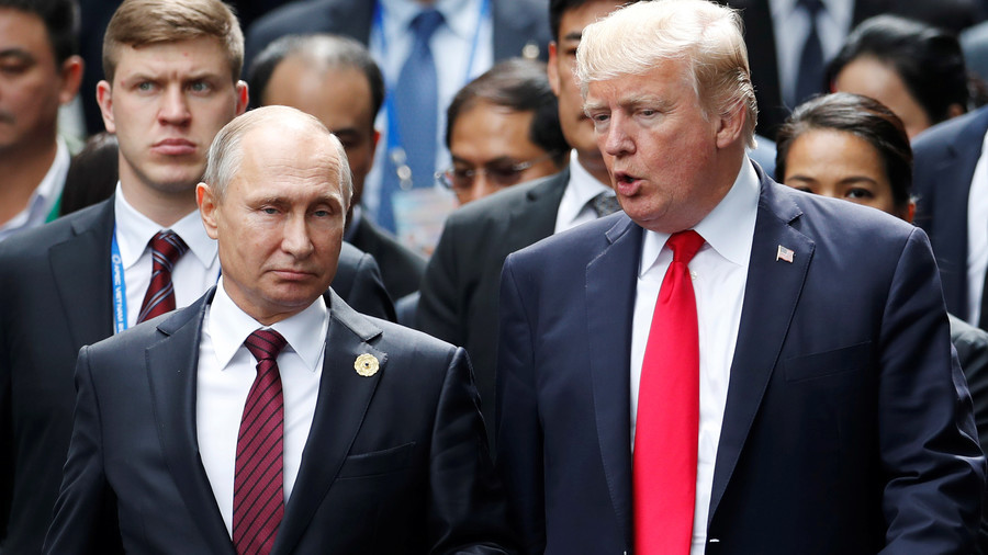 Trump says he will meet Putin to discuss 'arms race that is getting out of control'