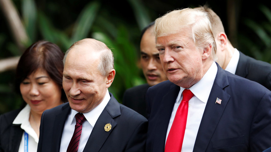 Shock horror! Trump congratulates Putin on election victory and media goes nuts