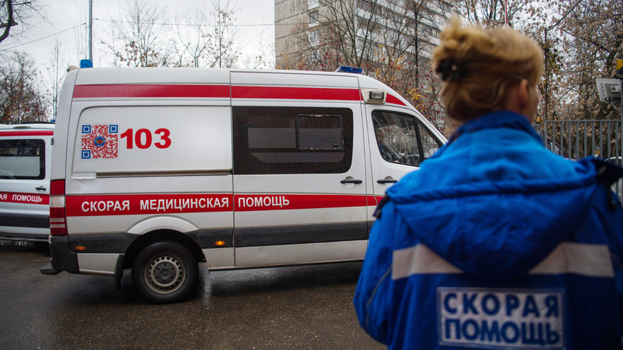 Children among at least 21 people 'poisoned' by 'gas' in Russian village