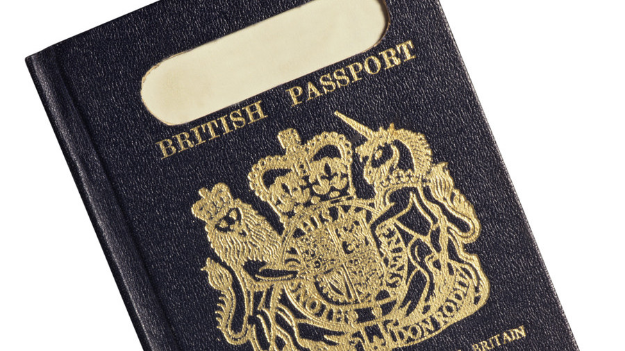 Isn't it ironic? UK 'takes back control' by asking foreign firm to make new blue passports (VIDEO)