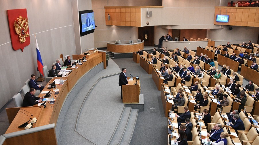 Russian reporters boycott parliament over sexual harassment scandal