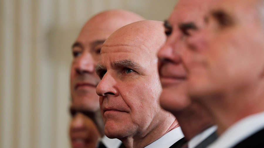 Trump replaces national security adviser McMaster with John Bolton