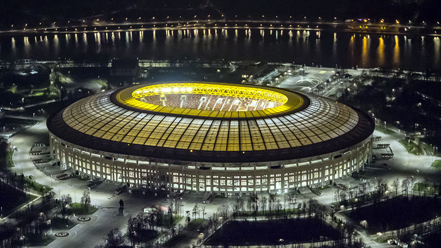 Russia v Brazil: New-look Luzhniki set for latest World Cup test-run