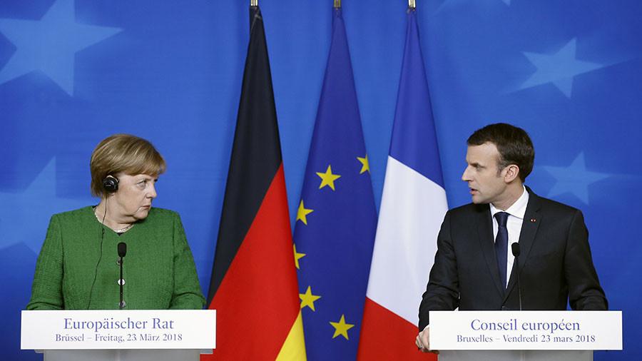 Merkel, Macron convinced by London's 'evidence' implicating Russia in Skripal case