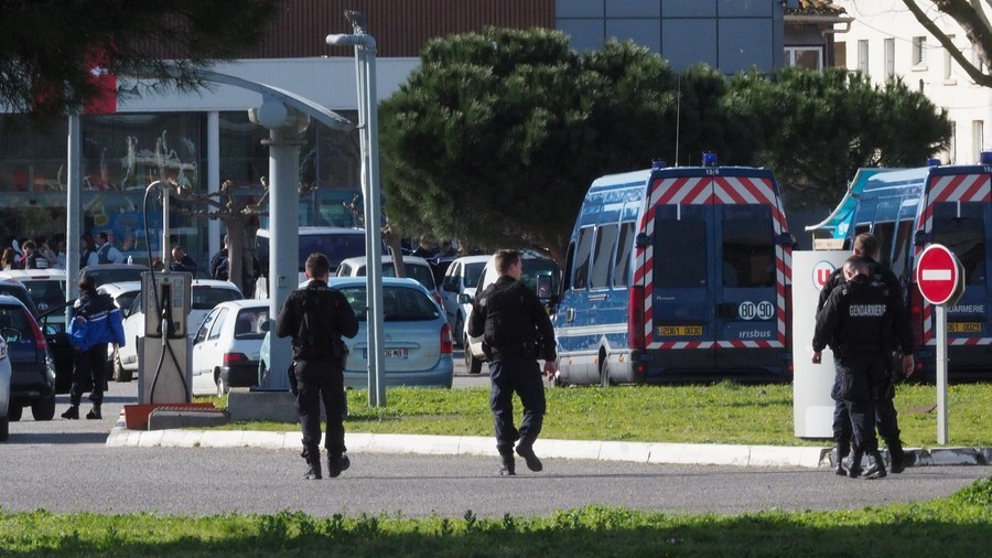 French police officer who swapped himself for hostage dies