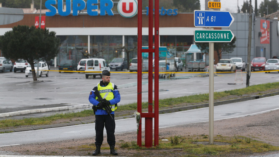 3 homemade bombs found at site of French supermarket attack – report