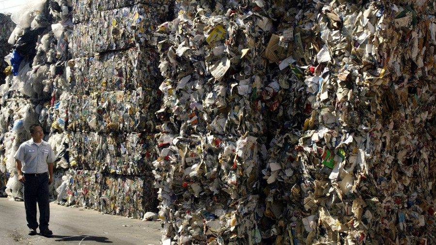 US demands China reconsider 'catastrophic' ban on importing foreign garbage & recyclables