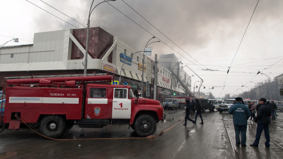 At least 12 dead in massive shopping mall blaze in Russia (PHOTOS, VIDEOS)