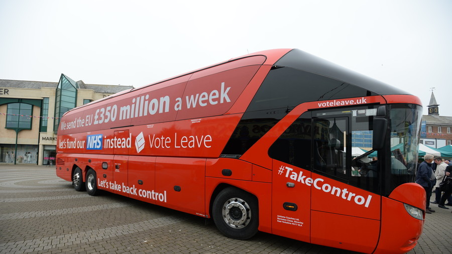 Vote Leave campaigners branded 'criminals' amid allegations of 'cheating' in Brexit referendum