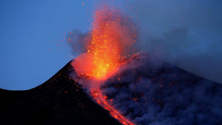 Mt Etna's sliding toward sea, 'catastrophic' tsunamis & landslides on horizon