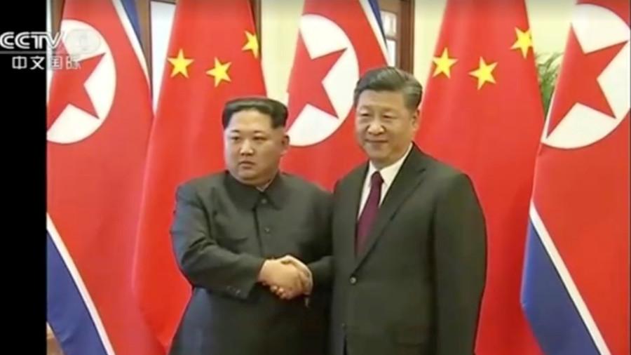kim jongun amp xi jinping held talks in beijing � rt world news
