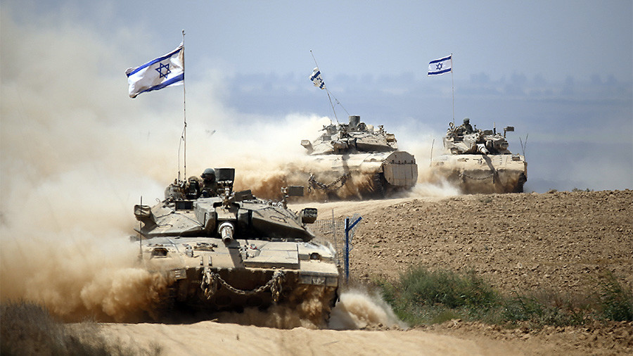 Israeli tanks target Hamas observation posts in Gaza Strip over cross-border arson