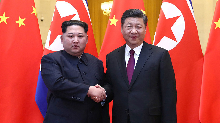 Kim Jong-un & Xi Jinping held talks in Beijing