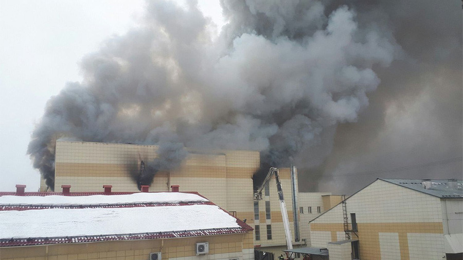 Kemerovo MMA fighter calls for governor to resign over mall fire tragedy