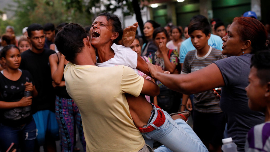 68 killed in Venezuela police station riot & fire