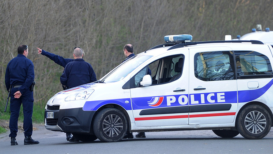 French Police Arrest Man Who Drove Car at Soldiers