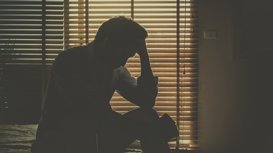 Male suicide rate is 'stain on our society,' campaigner tells RT as UK sees new death every 2 hours