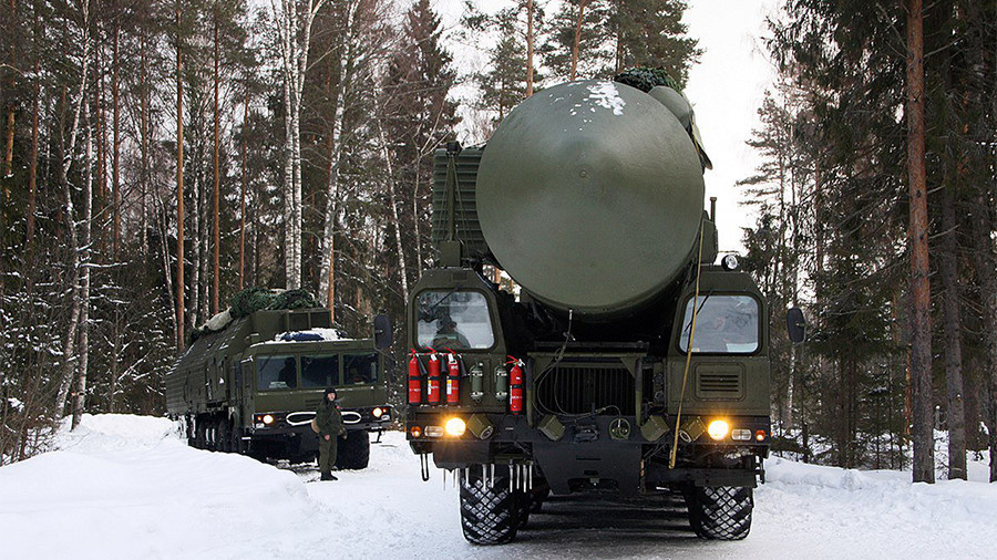 Russian Federation  tests new ballistic missile