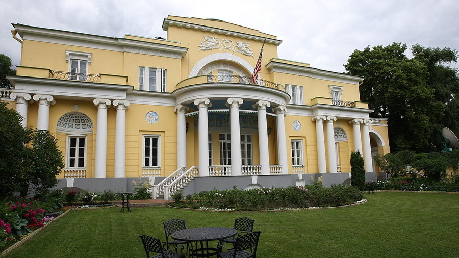 Expel Americans from historic Moscow mansion, leader of Russian nationalist party urges