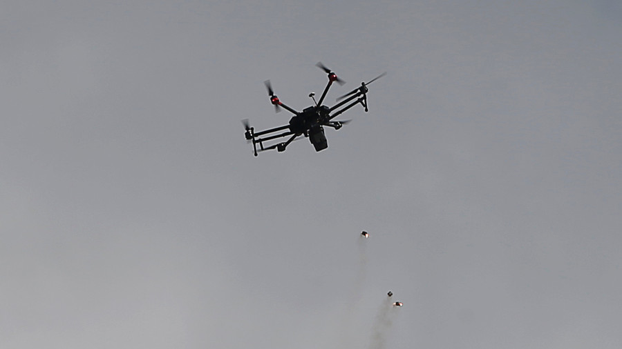 Tear gas from the skies: IDF targets Palestinian protesters with drones (PHOTOS, VIDEO)