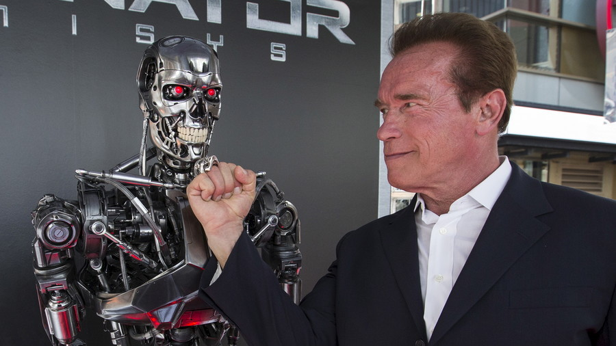 'I'm back,' says Arnold Schwarzenegger first thing after heart surgery