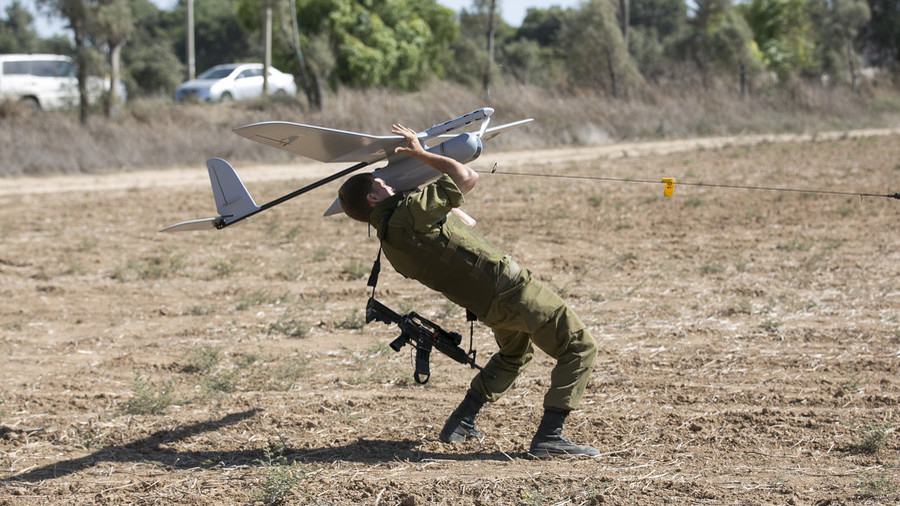 Israeli Drone Crashes in South Lebanon