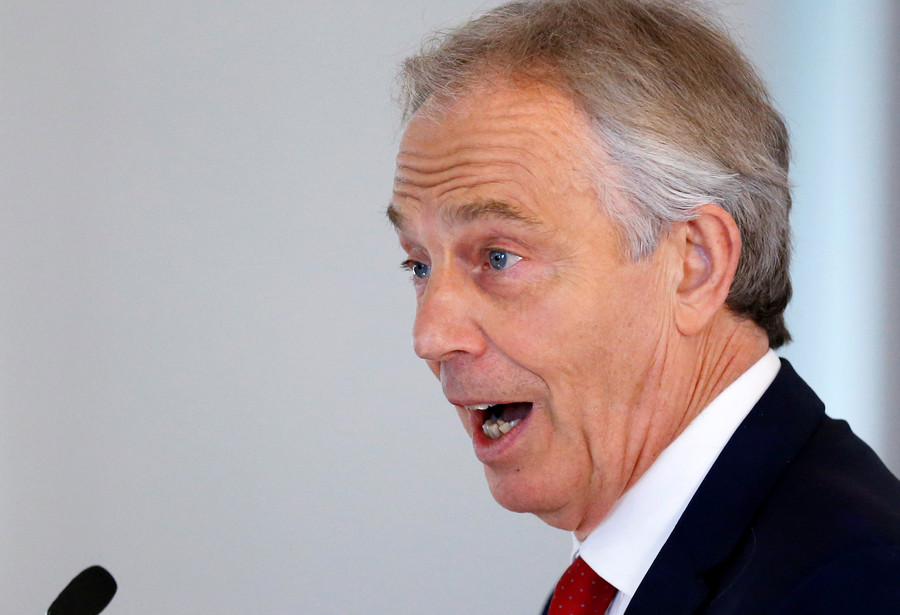 Ex-PM Blair pleads with EU leaders to stop Brexit by changing free movement laws (VIDEO)