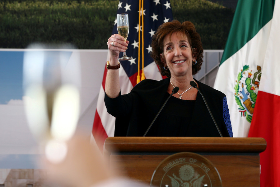 US Ambassador to Mexico resigns amid strained relations