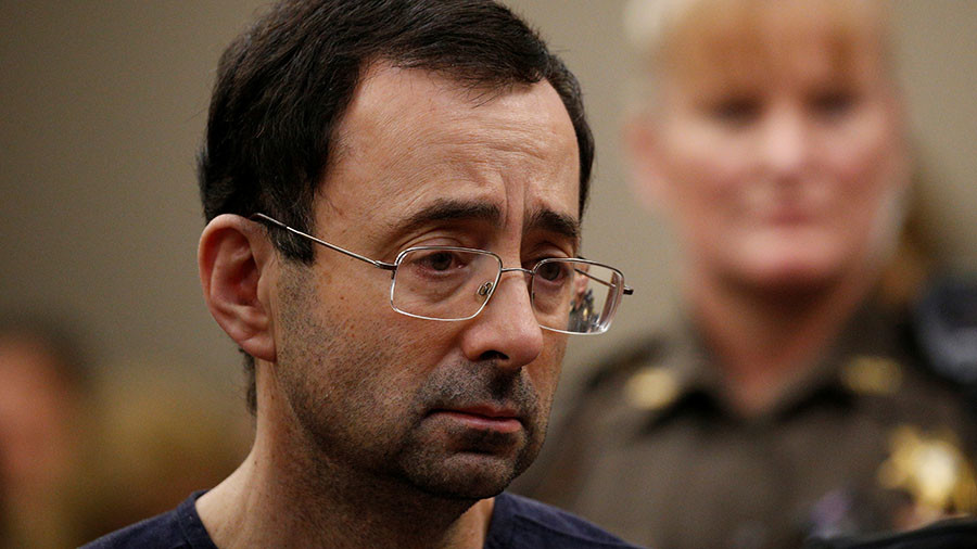 Nassar's ex-boss allegedly paid students for nude medical exams