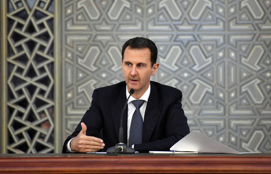 Assad: Ghouta op against terrorists will continue in parallel with helping civilians escape
