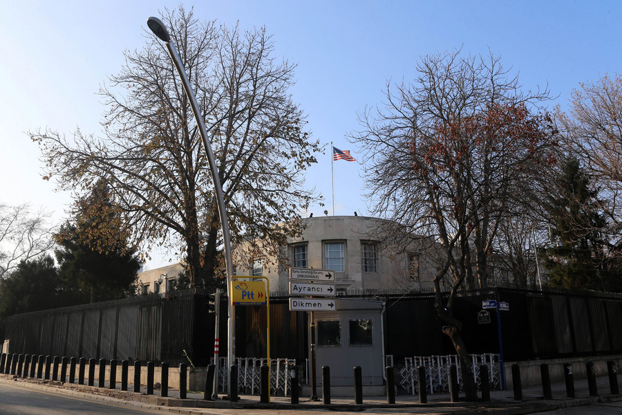 US embassy in Turkey closed over security threat, 4 ISIS suspects detained over attack plot