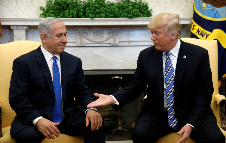 Like King Cyrus and Truman: Netanyahu lavishes praise on Trump for embassy move