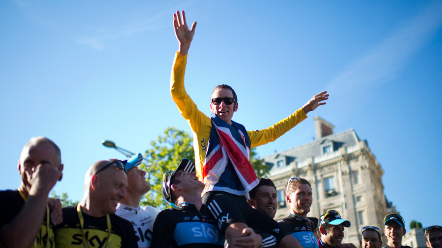 A lesson in hubris: Wiggins & Team Sky scandal exposes rank hypocrisy in UK cycling