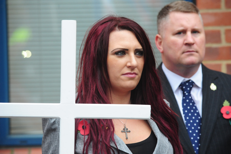 Guilty! Britain First leaders Paul Golding and Jayda Fransen lose hate crime case