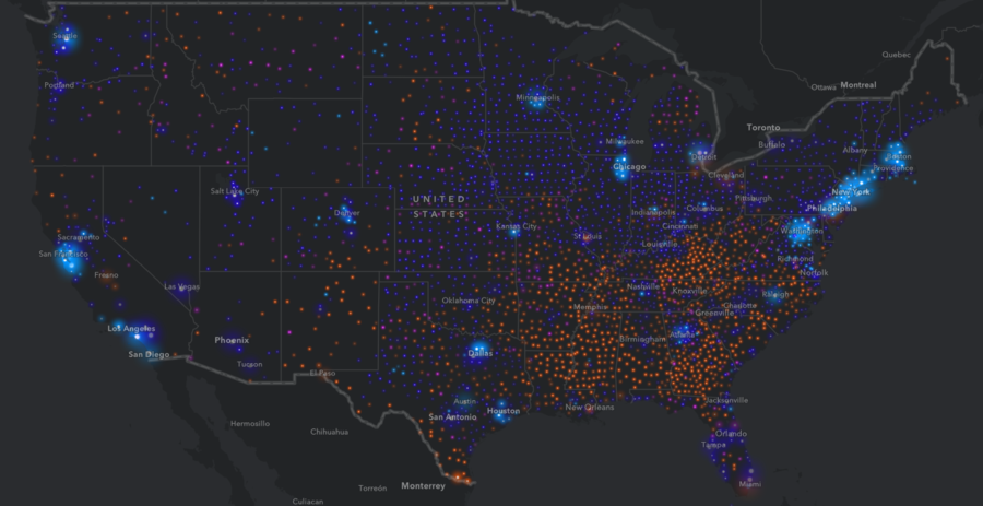 From New York to Los Angeles: Interactive map breaks down US wealth gap (IMAGES)