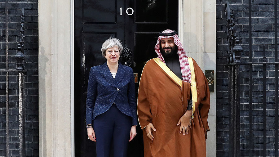 Major security gaffe as Saudi crown prince Mohammed bin Salman prepares to talk oil over tea