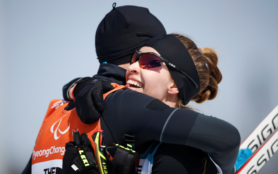 Athletes from Russia win 2 biathlon golds & silver at Paralympics in South Korea