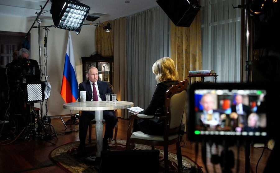 Putin's interview with NBC