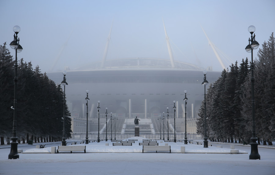 St. Petersburg Stadium news