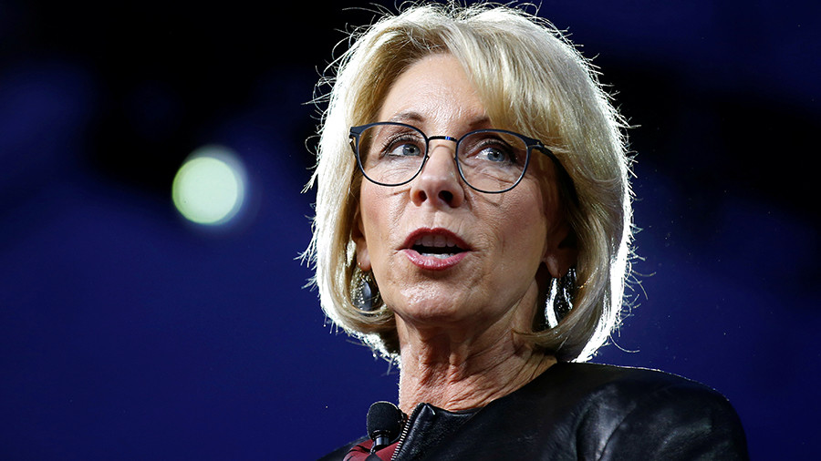 'I can't say': Education Sec. DeVos scores an 'F' when asked about her state's schools