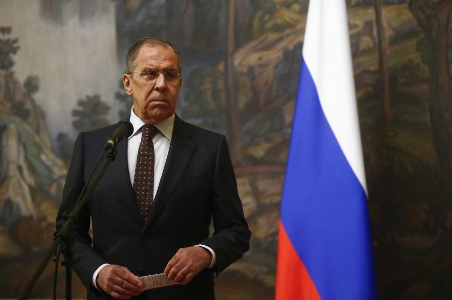 Sergey Lavrov news