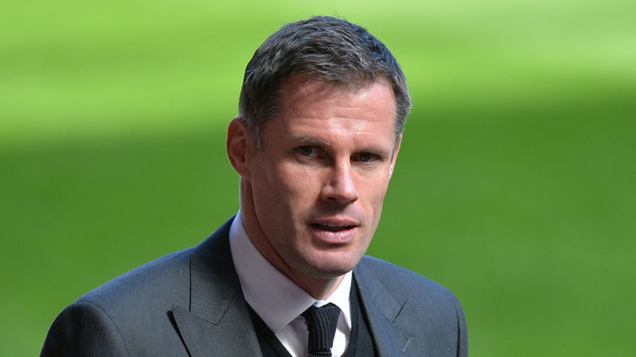 Sky Sports suspends spit-shame pundit Carragher until end of football season