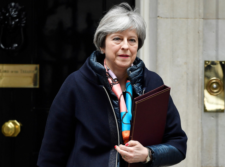 May's Russia sanctions slammed on social media while MPs laud PM's strength