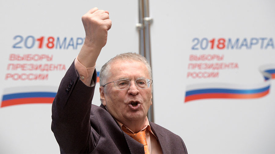 Your guide to 2018 Russian presidential election candidates: 4. Vladimir Zhirinovsky (LDPR)