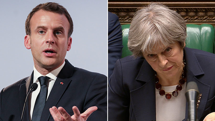 'Fantasy politics': France accuses May of punishing Russia prematurely over ex-spy poisoning