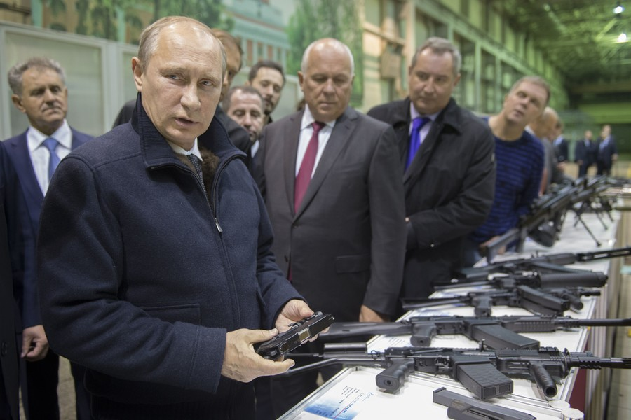 'I slept with a pump-action shotgun beside my bed': Putin reveals details of life in 1990s Russia